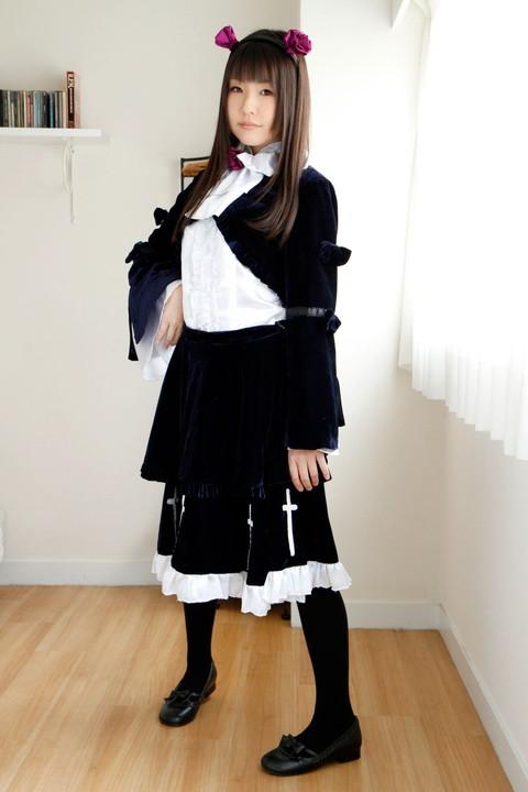 俺妹 黒猫 コスプレ画像 つぼみ018