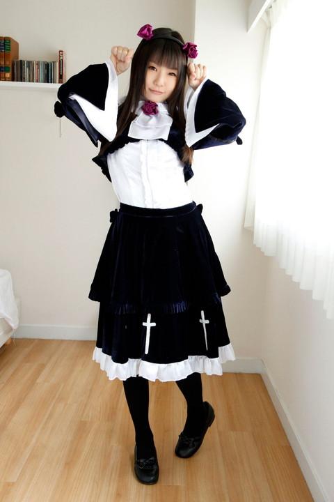 俺妹 黒猫 コスプレ画像 つぼみ023