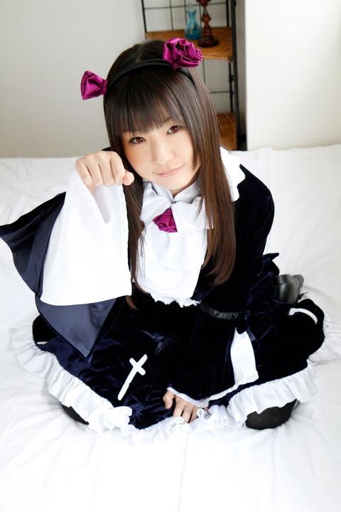 俺妹 黒猫 コスプレ画像 つぼみ043