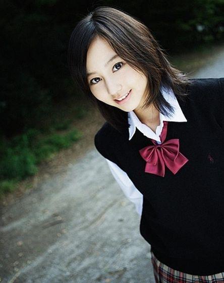 堀北真希 制服 画像006