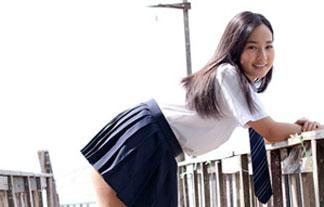 (高嶋香帆)えろい身体をしたセイフク美10代小娘☆これはヤリたいなwwwwwwww