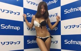 (橋本梨菜)JAPAN一黒いグラドルが新作イベントで尻の白さを語るwwwwwwwwww(えろ写真18枚)