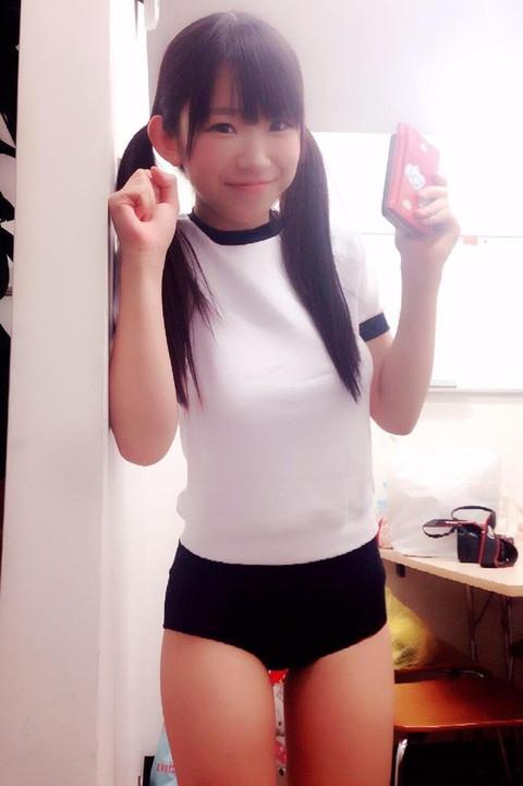 長澤茉里奈 合法ロリ巨乳 エロ画像10