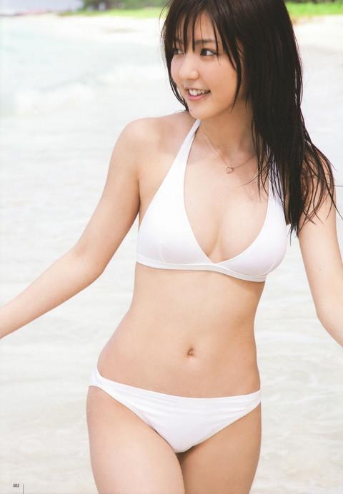 アイドル・女優の白水着グラビア画像01