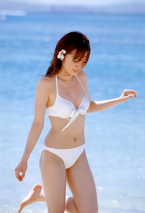 アイドル・女優の白水着グラビア画像11