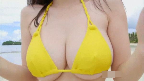 杉原杏璃 ビキニグラビア写真77枚☆黄色いビキニからハミ乳がwwwwやっぱり下乳が良いわwwww