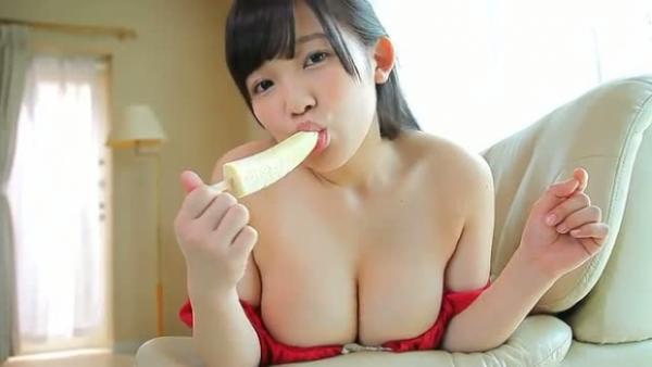 天木じゅん ノーブラ巨乳画像38枚!バナナを舐めながらIカップを揺らすwwww