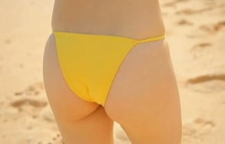 下半身のむっちり具合に定評のある椎名香奈江が豪快にハミ尻してる(えろ写真28枚)