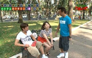 (アナウンサーお宝)狩野恵里(28)がマンチラwwwwwwさらに三村にぶっかけられてるみたいに見えるんだがwwwwww(TVキャプ写真)
