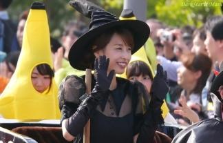 【加藤綾子】お台場ハロウィンパレードでカトパンも魔女コスで参加してたwww【画像あり】