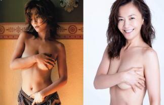 (衝撃比較)華原朋美(41)ぬーど写真ビフォーアフター…⇒20代と今の裸を並べた結果…