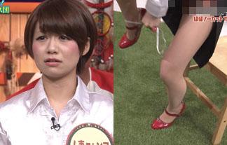 (放送事故)モデルえろ芸人がパンツ丸見え&公開おなにー☆編集なしで関西に流れる…(写真20枚)
