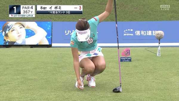 【女子ゴルフ】イ・ボミの最新Eカップおっぱい&かがんでパンチラキタ━━゜+.ヽ(≧▽≦)ノ.+゜━━ ッ ! 画像83枚