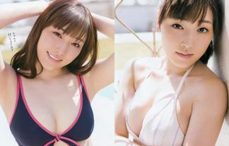 譜久村聖(19)最新ミズ着☆モー小娘リーダーの性的なFカップ体が眩しすぎる☆(写真27枚)