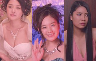 石川梨華、筧美和子や倉持明日香らときゃば嬢役でお乳の競演☆(写真33枚)