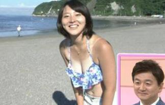 NHKで美巨乳アナのけしからん日焼け跡お乳☆2ch「えろい焼け方」「受信料払うわ」(写真15枚)