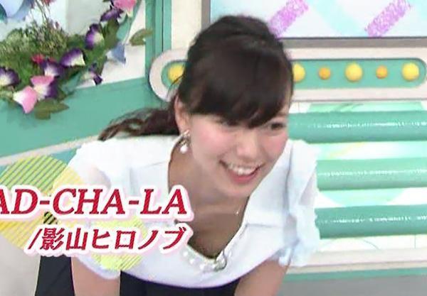ABC斎藤真美アナの今朝の胸チラなどお宝ハプニング画像まとめ【画像41枚】