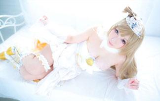 (コスプレ写真)ラブライブのことりちゃんが美巨乳でぽちゃに☆☆☆パンツ見えそうwwwwww(写真57枚)
