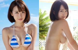 Gカップロケット乳で容姿端麗なレースクイーンのヘンタイミズ着が過激すぎぃ☆(写真32枚)
