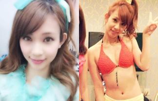 (文春砲)小倉優子のダンナを虜にした後輩タレント馬越幸子のミズ着写真など45枚