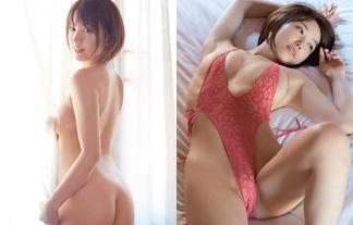 (裸)日テレジェニックのグラドルが引退作で過激にマンスジ露出☆(写真37枚)