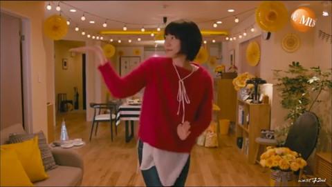 新垣結衣 ドラマ「逃げ恥」ダンス キャプ画像03