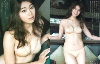 稲村亜美、裸みたいな肌色ビキニがホームラン級のえろさwwwwww(写真22枚)