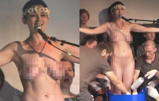 (ぬーど)NHKでモデルの美巨乳お乳が丸出しに☆これ公共放送なんだよな…?(写真10枚)