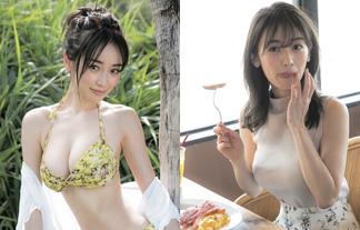 泉里香、待望のミズ着グラビア☆さんまの番組で話題になったボインモデル(写真24枚)