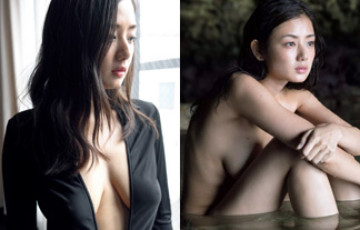片山萌美、チクビが薄っすら透けちゃってるブラなし過激グラビア☆(えろ写真26枚)