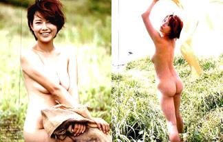 中村優のセミぬーど追加カットキタ☆外で裸にさせられる元グラドル…(写真25枚)