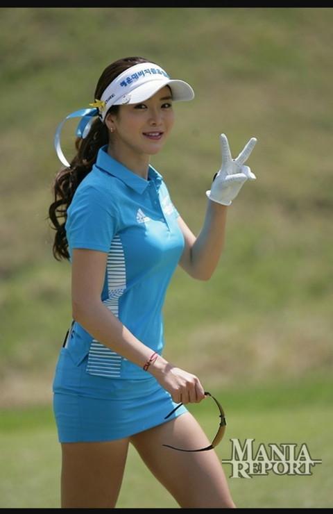 韓国の美人ゴルファー「アン・シネ」エロ画像03