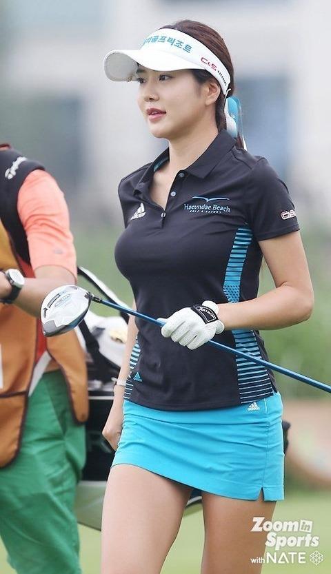 韓国の美人ゴルファー「アン・シネ」エロ画像07