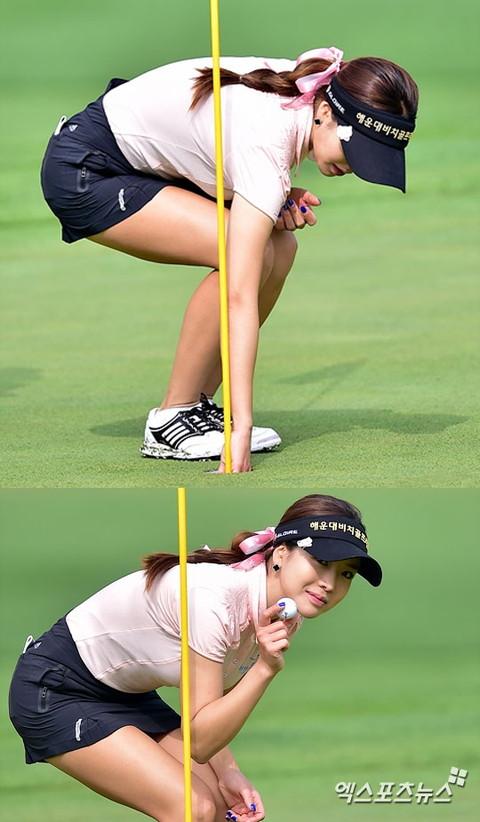 韓国の美人ゴルファー「アン・シネ」エロ画像11