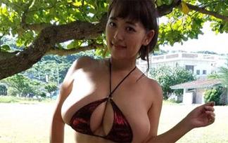 柳瀬早紀のミズ着写真☆Iカップのロケット乳えろグラビア☆
