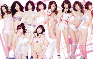 人気モデルモデル軍団がドえろい格好でヤンジャングラビアに殴り込み☆(写真14枚)