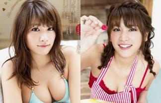 久松郁実 最新えろ写真54枚☆豊満体を隠しきれてないセックスな格好でケーキ作りに挑戦☆