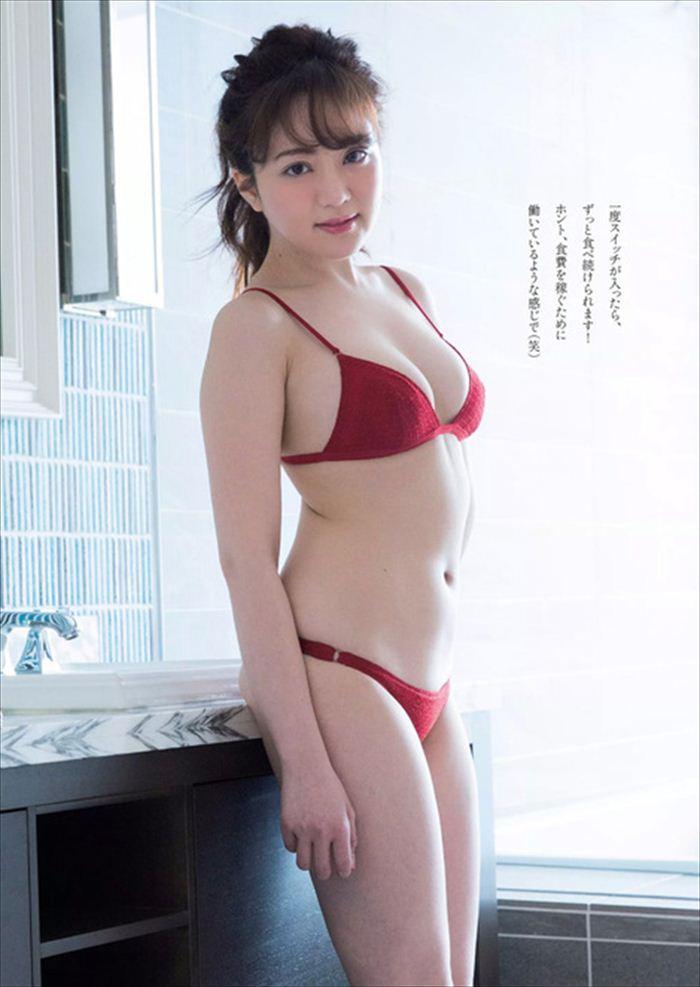 谷亜沙子 エロい水着画像 015