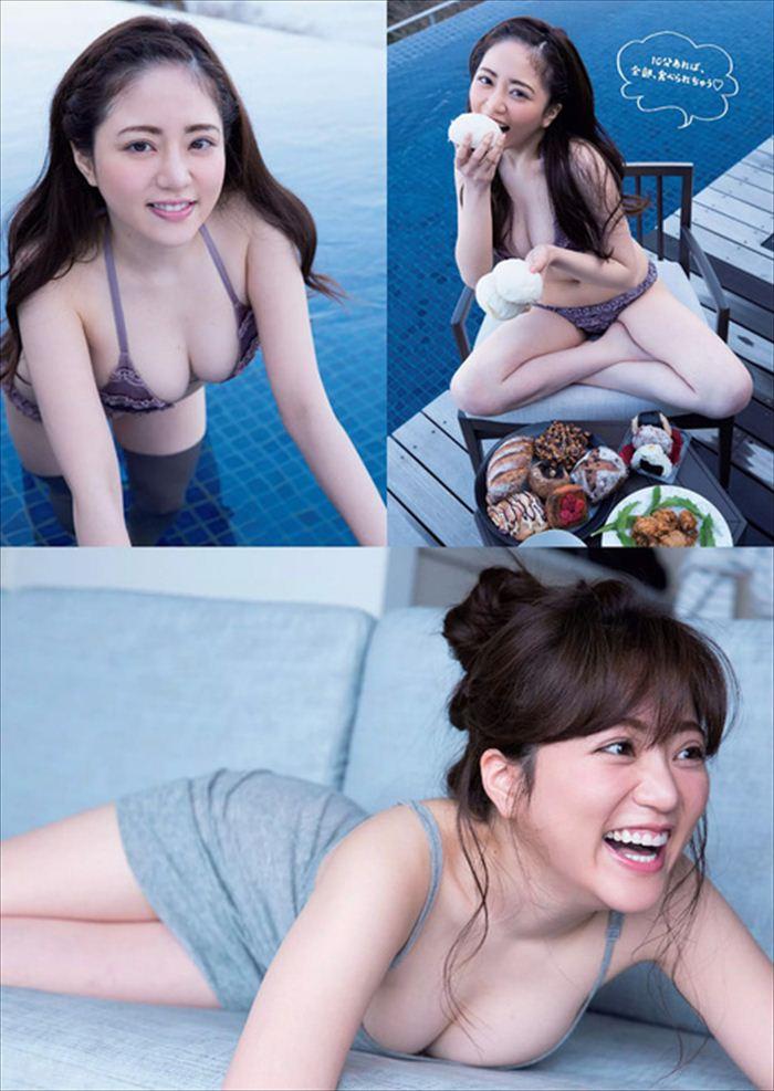 谷亜沙子 エロい水着画像 018