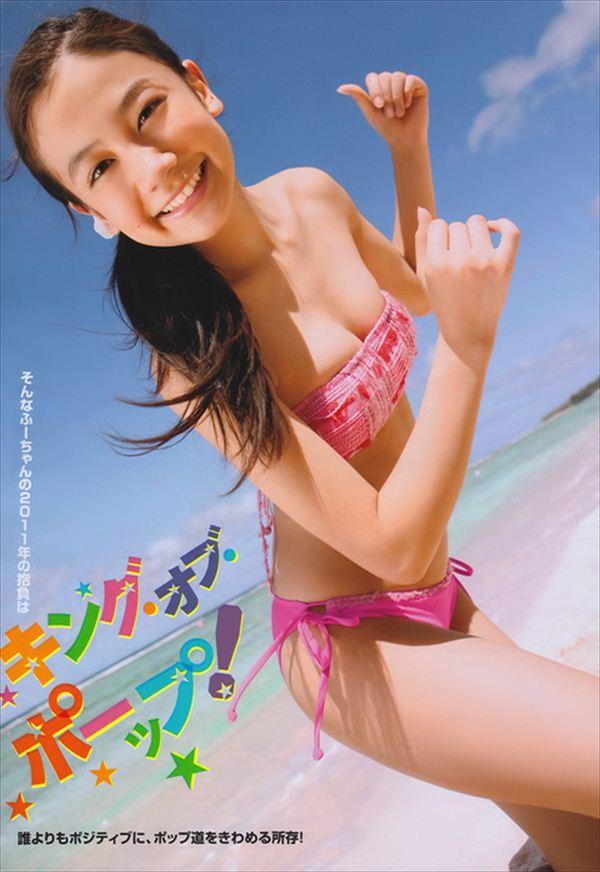 清水富美加 エロ水着画像 027