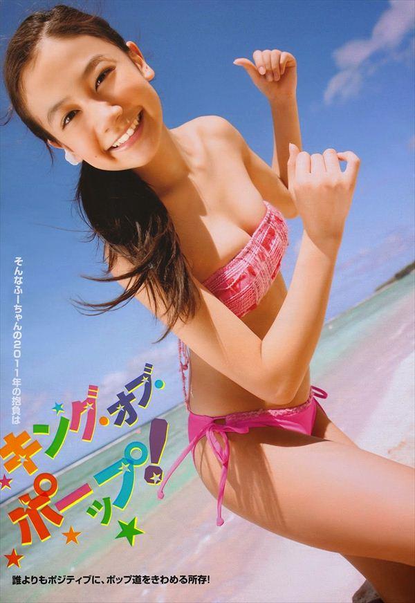 清水富美加 エロ水着画像 081