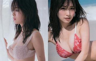 泉里香 最新下着えろ写真37枚☆美巨乳お乳の迫力が凄まじい写真集未収録カット☆