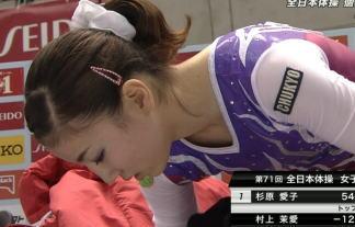(えろ目線)第71回全JAPAN体操選手権☆女子部門☆お尻、マンスジ、胸ちらまとめwwwwww 写真44枚