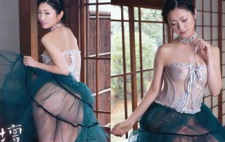 (アイドルぬーど)壇蜜(36)のチクビ透けぬーど写真☆黄カネ週間記念お蔵出し☆写真24枚