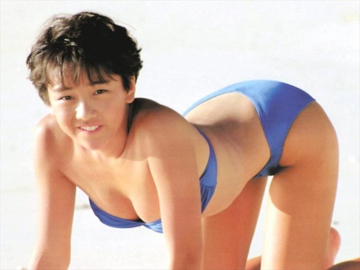 西田ひかる 水着画像 026