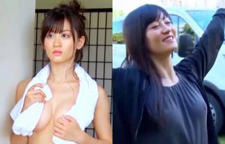 上西恵の透けチクビキター☆ブラなし収録のメイキング映像がぐうシコwwwwww(えろ写真78枚)