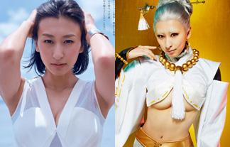 浅田舞 最新美巨乳えろ写真20枚☆過去超最高体の魅惑のお乳がチラリ…☆