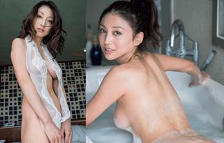 中川愛海セミぬーどえろ写真☆元ミスマガジンの女社長、決意の裸解禁☆