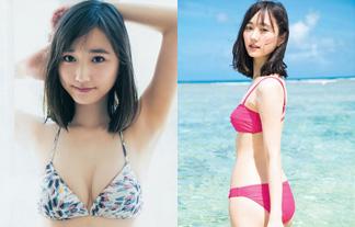 鈴木友菜 人気細身モデルモデルの貴重なミズ着グラビアがヌける☆(えろ写真42枚)