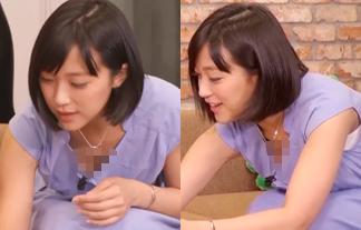 竹内由恵 胸チラエロ画像60枚!擬似ごっくんに恍惚の表情&胸元がノーガードにwww